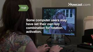 How to Flip a Computer Screen