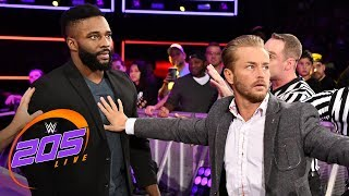 Cedric Alexander and Drew Gulak aren't finished with each other: WWE 205 Live, Aug. 21, 2018