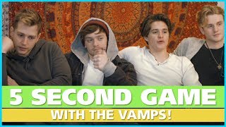 The 5 Second Game with The Vamps