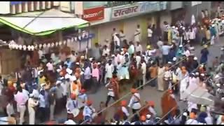 Nagar Kirtan Sachkhand Shri Hazur Sahib Nanded..