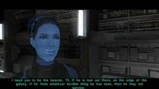 Bastila in KOTOR II: TSL if Revan is Set to Light Side