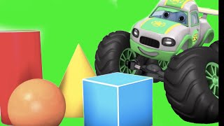 Surprise Eggs - Learn Colors and Shapes with Monster Trucks, Construction toys from Jugnu kids