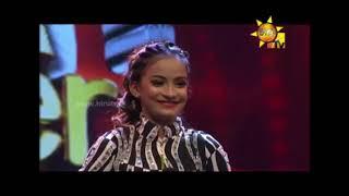 HIRU SUPER DANCER තරගයේ Sithum සහ Sanuliya ට Nadeesh Randika සහ Kaushi Choreography කරපු dance එක