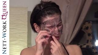 SCHWARZE MASKE gegen Pickel und Co. | Peel off BLACK HEAD MASK Test! (Very painful) Beauty Cosmetics