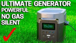 Ultimate Home Generator? - Ecoflow Delta / Portable Backup Power