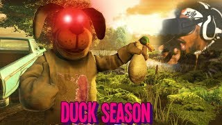 THE MOST DISTURBING GAME OF THE YEAR.. | Duck Season (Canon ENDING)