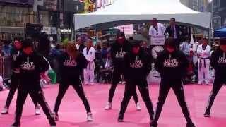 I Love Dance Performance at Taekwondo Festival NYC