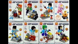 LEGO Minecraft My World Minifigures (knock-off) LELE 33058