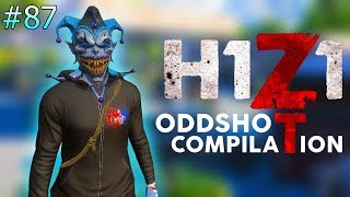 THIS RANDOM HEADSHOT WILL BLOW YOUR MIND... | H1Z1 - BEST ODDSHOTS AND STREAM HIGHLIGHTS #87