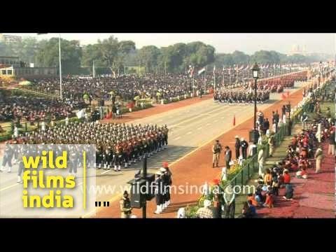 Republic Day parade - full ceremony! - Part 1