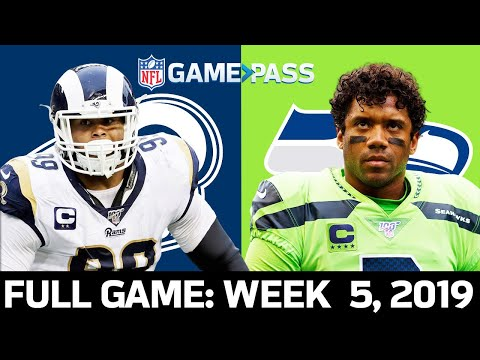 Rams vs. Seahawks Week 5 2019 FULL Game