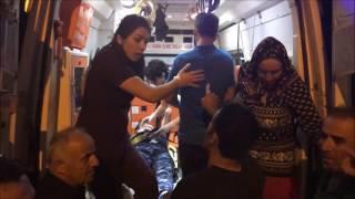 Tokat Erbaa park vadi yolunda trafik kazası - dört yaralı