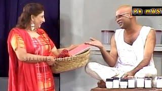 Best Of Akram Udass and Abida Baig Stage Drama Full Comedy Clip