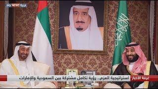 استراتيجية العزم.. رؤية تكامل مشتركة بين السعودية والإمارات