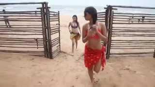 ININDIAN SEXY Model MICRO BIKINI Photo Shoot in Goa Beach HD