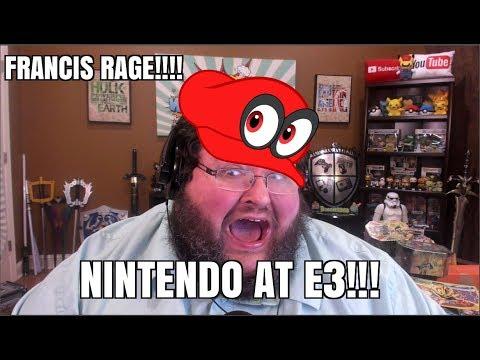 FRANCIS RAGE - NINTENDO AT E3! - 2D METROID: SAMUS RETURNS