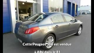 Peugeot 508 occasion visible à Albi présentée par Peugeot gga maurel albi