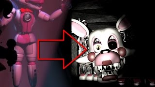 Funtime Foxy is Mangle !? : FNAF Sister Location Trailer Analysis  Reaction