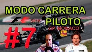F1 2016 | CARRERA PROFESIONAL CON MAXON #7 | GP. MÓNACO | PS4 | 1080p60 | Español