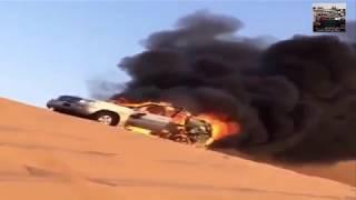 احترق وبعده البوري شغال😱 !!!