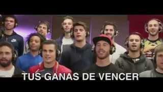 LA DÉCIMA - Paroles de La Chanson Officielle de Joueurs du Real Madrid et Orchestre