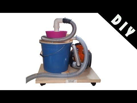 Building a Cyclone Dust Collector DIY
