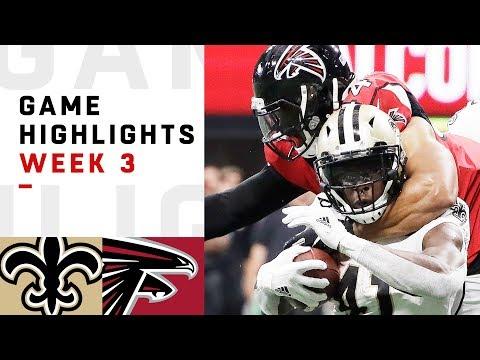 Xxx Mp4 Saints Vs Falcons Week 3 Highlights NFL 2018 3gp Sex