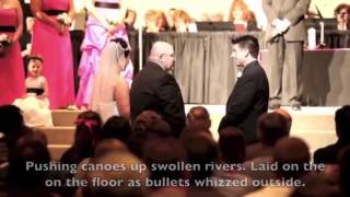 Touching wedding speech by father of the bride