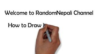 DRAWING NEPALI GIRLS Ft. NITI SHAH: RandomNepali Draws