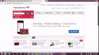 Bank of America Privacy Assist - Bank of America Online Banking 2015
