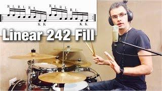Linear 242 Fill | Drum Lesson