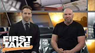 Dana White Joins First Take To Talk Mayweather-McGregor | First Take | June 16, 2017