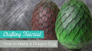 How to make a Dragon Egg from Game of Thrones | Naoko Cosplay |