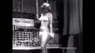 RARE Candy Barr burlesque striptease dance