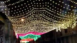 Newswala : Milad Un Nabi 2012 Preparations and lightning in Old City Of Hyderabad India.