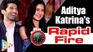 Aditya Roy Kapur-Katrina Kaif's Blockbuster Rapid Fire On 'Dhoom 4', SRK, Salman, Aamir