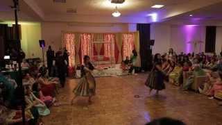 Roop & Mandeep's Sangeet Dance: Isha & Priya