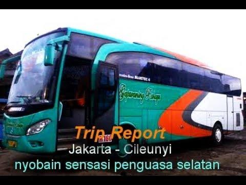 Trip Report Bus Gapuraning Rahayu EROBUS Jurusan Kr  Pucung   Jakarta