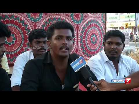 Tirunelveli law college students goes on hunger-strike over ongoing Cauveri issue   News7 Tamil