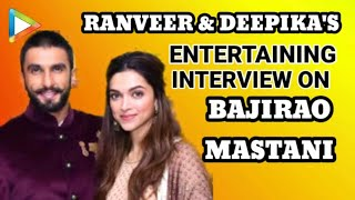 Ranveer Singh   Deepika Padukone   Bajirao Mastani   Full Interview   Vin Diesel   Rapid Fire   Quiz