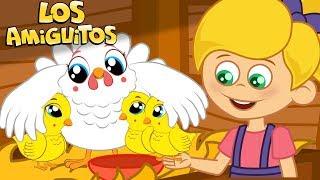 Los Pollitos Dicen Pio Pio cancion infantil y muchas máss canciones infantiles | Los Amiguitos