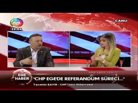 CHP İzmir Milletvekili Tacettin Bayır,'dan Referandum açıklaması