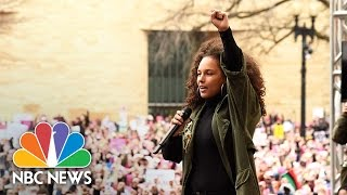 Alicia Keys: 'No Hate, No Bigotry, No Muslim Registry' | NBC News