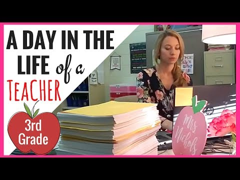Xxx Mp4 A DAY IN THE LIFE OF A 3RD GRADE TEACHER A Classroom Diva 3gp Sex