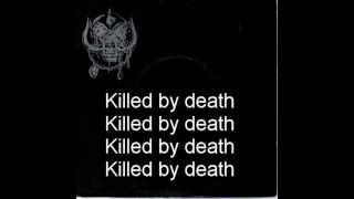 killed by death motorhead lyrics HD song