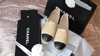 Chanel Espadrilles | Unboxing, Price, Fit & Review