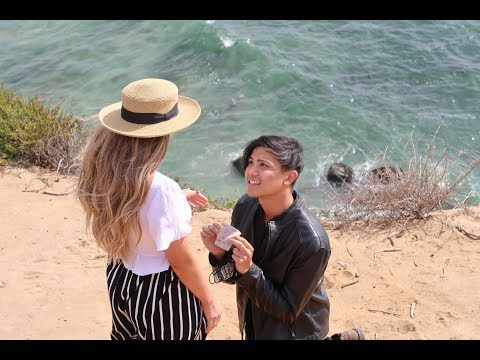 SURPRISE PROPOSAL on a CLIFF (EMOTIONAL & UNFORGETTABLE) | AMWF
