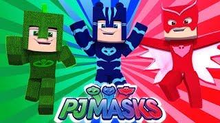Minecraft: PJ MASKS A MINIVAN DESAPARECEU !! Ep.01 ‹ LOBINHO ›