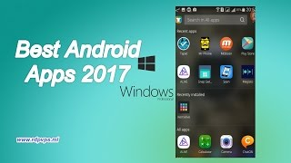 Best Android Apps 2017 ─ افضل تطبيقات الاندرويد