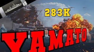 YAMATO 283K DMG With This 460 Mm Guns